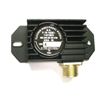 willys turn signal flasher diagram 11613631 24 volt signal control flasher unit for military vehicles  11613631 24 volt signal control flasher