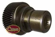 28) Input Gear, 1997-2002 Jeep Cherokee XJ & Wrangler TJ with 2.5L Engine, Manual Transmission, with NP231 Transfer Case