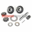 3) Differential Spider Gear Kit, Dana 44 w/ Tapered Axles, 10 Spine, fits 1945-1956 Willys & Jeep Vehicles