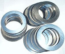 3) Shim Set, carrier 1984-2001