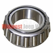 4) Differential Carrier Bearing Cone Fits 1941-63 Jeep & Willys with Dana 25 Front