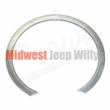 6) Snap Ring for Front Output Shaft Clutch Bearing, fits 1941-71 Jeep & Willys with Dana Spicer 18 Transfer Case