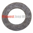 7) Felt Seal for Output Shaft, Front and Rear Output, fits 1946-71 Jeep & Willys with Dana Spicer 18 Transfer Case