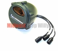 Front Marker & Turn Signal Light with Amber Lens, Early Style, 7762614A