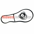 Windshield Glass Seal With Center Section & Locking Strip 1952-1966 Military Jeep M38A1, M170