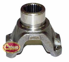 9) Yoke (Strap & Bolt Style) Model 30 Front Axle, 1987-90 Wrangler, 1984-87 Jeep Cherokee