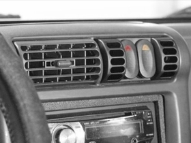 AC Vent Switch Pod, 97-06 Jeep Wrangler by Rugged Ridge
