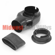 Air Cleaner Horn Kit, 1941-1953 Willys MB, CJ2A, CJ3A with the 4-134 Cubic Inch L-Head Engine