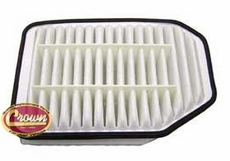 Air Filter, fits 2007-11 Jeep Wrangler JK with 2.8L Diesel Engine