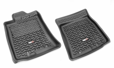 All Terrain Floor Liner Set, Front Pair, Black, Toyota FJ Cruiser 2007-2011   82904.30