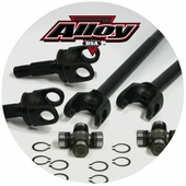 Alloy Front Chromoly Axle Kits