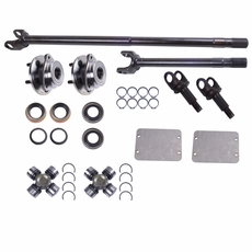 Alloy USA Front Axle Kit, 1987-95 Jeep Wrangler (YJ), 1984-91 Cherokee (XJ), Dana 30 Grande 30/30-Spline Kit (30-Spline Inners & Outers)