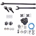 Alloy USA Front Axle Kit, 1997-06 Jeep Wrangler (TJ), 1992-01 Cherokee (XJ), Dana 30 Grande 30/30-Spline Kit w/ ARB Locker (30-Spline Inners & Outers)