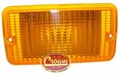 Amber Parking Lamp, Left Side, fits 1997-06 Jeep Wrangler TJ