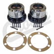 AVM Locking Hub Set, Fits 1972-1980 Jeep CJ5, 1972-1975 Jeep CJ6 w/ Dana 30 Front Axle