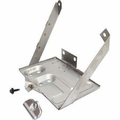 Stainless Battery Tray Kit, fits 1976-1986 Jeep CJ5, CJ7, CJ8 Scrambler Models