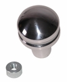 Billet Shift Knob, Blank, 80-95 Jeep CJ and Wrangler by Rugged Ridge
