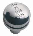 Billet Transfer Case Knob, Aluminum, 87-95 Jeep Wrangler by Rugged Ridge