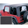 XHD Soft Top, Black Denim, Tinted Window, 97-06 Jeep Wrangler by Rugged Ridge