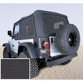 XHD Soft Top, Black Denim, Tinted Windows, 97-06 Jeep Wrangler by Rugged Ridge