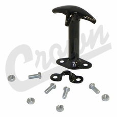 Hood Catch, Black, 41-95 Willys and Jeep CJ, Wrangler Models