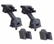 Hood Catch and Bracket Set, 97-06 Jeep Wrangler by Rugged Ridge