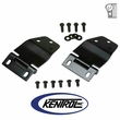 Black Powder Coated Stainless Hardtop Liftgate Hinge Set fits 1977-1986 Jeep CJ7 Models by Kentrol