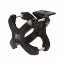Black X-Clamp, Single, 1.25-2.0 Inches by Rugged Ridge