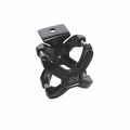 Black X-Clamp, Single, 2.25-3 Inches by Rugged Ridge
