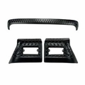 3 Piece Body Armor Kit, 97-06 Jeep Wrangler by Rugged Ridge