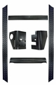 6-Piece Body Armor Kit, 97-06 Jeep Wrangler by Rugged Ridge
