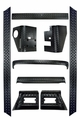 9-Piece Body Armor Kit, 97-06 Jeep Wrangler by Rugged Ridge