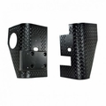 Rear Corner Guards, Body Armor, 97-06 Jeep Wrangler by Rugged Ridge