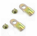 Replacement Tailgate Latch Bracket Set of 2 for 1976-1986 Jeep CJ7, 1981-1985 CJ8 Scrambler