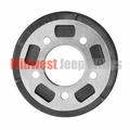 """Brake Drum, Front or Rear, 9"""" x 1-3/4"""" Fits 1941-1953 Willys MB, Ford GPW, Willys CJ2A, CJ3A"""