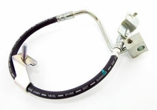 Brake Hose (At Rear Axle) Jeep Wrangler (1997-2006) with rear drums.