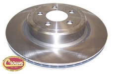"BRAKE ROTOR, 2006/10 LX MAGNUM, 300, CHARGER W/ POLICE PACKAGE, 13.78"" ROTORS"