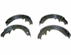 """Brake Shoe Set for Front or Rear, Fits 1972-78 Jeep CJ with 11"""" Drum Brakes"""