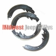 "Brake Shoe Set, Front or Rear, 10"" x 2"" for 1966-1971 Jeep CJ5, CJ6, C101 Commando"