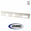 Brushed Stainless Steel Dash Panel without Radio Opening fits 1976-1986 Jeep CJ Models by Kentrol