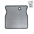 ( 1110601 ) Radiator Bug Shield, Stainless Steel, 55-86 Jeep CJ Models by Rugged Ridge