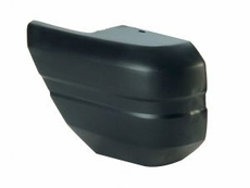Bumper Cap, Rear Left, Gloss Black, 1997-01 Cherokee XJ