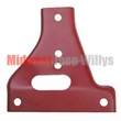 Bumper Gusset, Drivers Side Upper, Fits 1941-1945 Willys Jeep MB, Ford GPW
