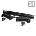 Rear Bumper Kit, Fits 1984-1996 Cherokee XJ, Black
