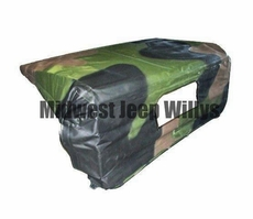 Cab Top for M939 Series 5 Ton Military Trucks with 3 Color Camouflage, 12450238-1