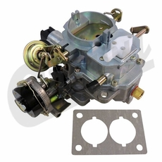 New Carburetor for 1982-1990 Jeep CJ, Wrangler Models with 4.2L Engine with Electronic Stepper Motor