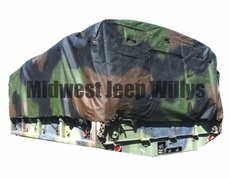 Cargo Bed Cover, 3 Color Camouflage for M54, M813 and M939 Series 5 Ton Trucks, 12450243-1