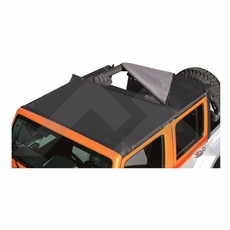 RT Off-Road Black Diamond Combo Beach Topper for 2007-2016 Jeep Wrangler JK 2 Door