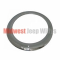 Replacement Chrome Headlight Bezel for 1945-1953 Willys Jeep CJ2A, CJ3A Models