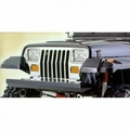 Rock Crawler Front Bumper, 76-06 Jeep CJ and Wrangler by Rugged Ridge